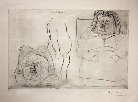Pablo Picasso, 'Balzac, après Rodin', 1952