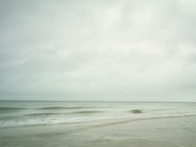 Donald Weber, 'Sword Beach - October 21, 2014, 8:30am. 14ºC, 87% RELH, Wind WSW, 19 Knots. VIS: Good, Overcast Clouds, Haze', 2014