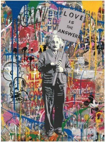 Mr. Brainwash, '#2 Einstein', 2019
