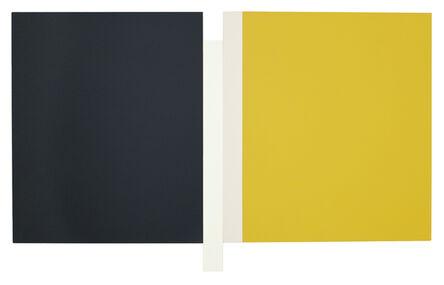 Scot Heywood, 'Sunyata – Grey, White, Canvas, Yellow', 2016