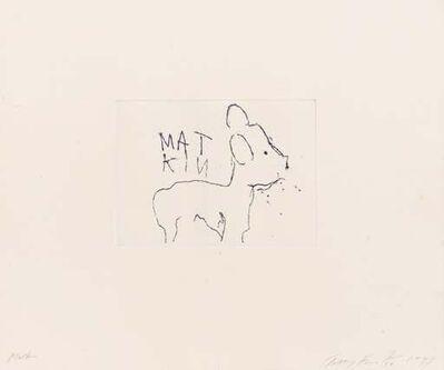 Tracey Emin, 'Matkin', 1997