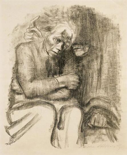 Käthe Kollwitz, 'Abschied und Tod', 1923