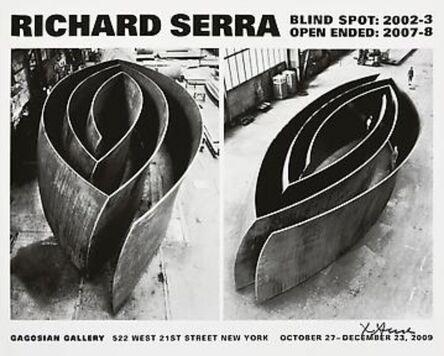 Richard Serra, 'Blind Spot - Open Ended (Hand Signed)', 2009