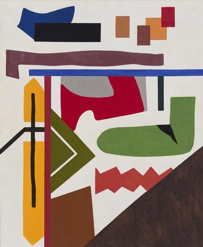 Shirley Jaffe, 'Urban Green', 1998