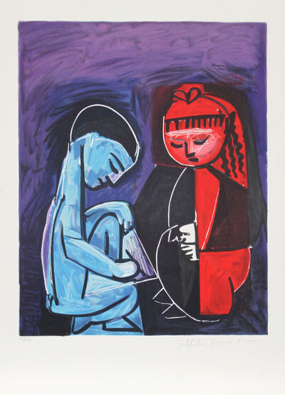 Pablo Picasso, 'Deux Enfants Claude et Paloma', 1973-originally created in 1952