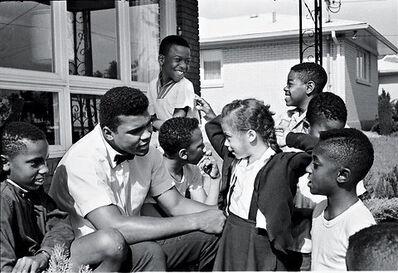"Steve Schapiro, 'Muhammad Ali and Yolanda ""Lonnie"" Williams, Louisivill, KY', 1963"
