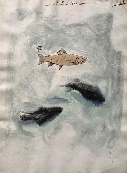 Paul Resika, 'Three Fish', 2001