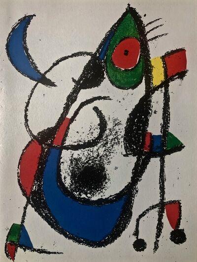 Joan Miró, 'Original Lithograph XI', 1975