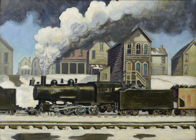 Charles Ephraim Burchfield, 'The White Plume', 1926-1928
