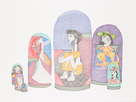 Irene Lees, 'Picasso Series, Russian Dolls', 2019