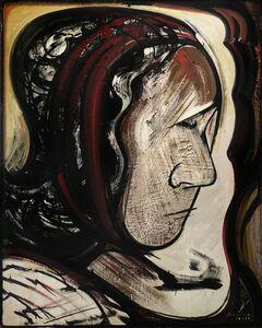 David Alfaro Siqueiros, 'Estudio para mural: Cabeza', 1969