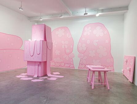 Lily van der Stokker, 'Huh', 2014