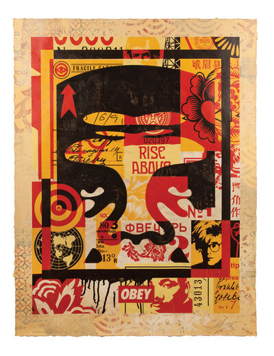 Shepard Fairey, 'Icon Collage (Top)', 2016