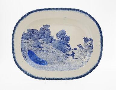 Paul Scott, 'Cumbrian Blue(s), New American Scenery, The Uranium Series No. 1, Messa No: 1, Mine Road Cove, AZ', 2019