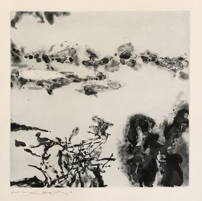 Zao Wou-Ki 趙無極, 'Éloge des choses extrêmement légères (364)', 1993