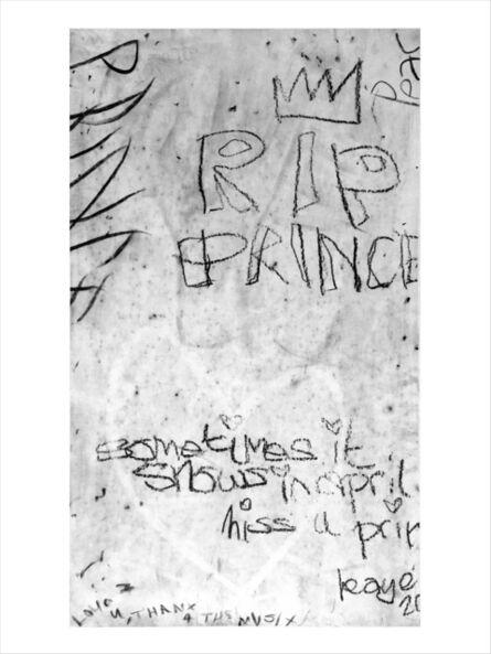 Graham Dolphin, 'Wall (Prince) I', 2021