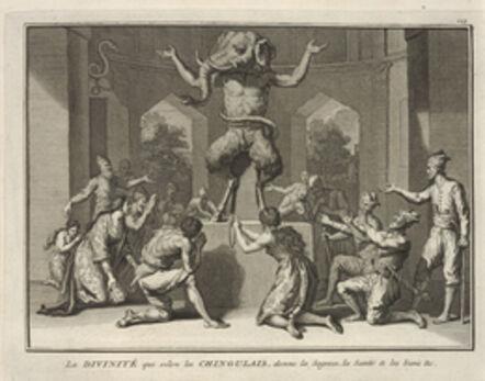 Bernard Picart, 'Deity Who the Chingulais Believe Provides Wisdom, Health, and Goodness', 1723-1743