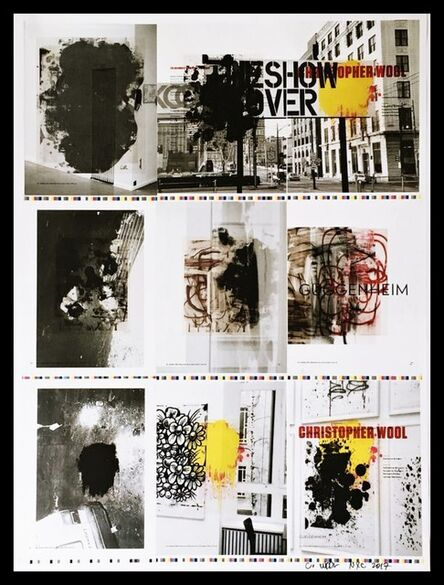 Christopher Wool, 'The Show is Over (Hand Signed by Christopher Wool)', 2013-2017