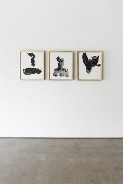 Robert Motherwell, 'Gesture Series Numbers 13, 2 and 14', 1971