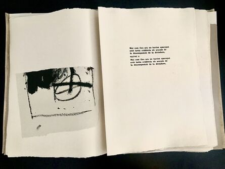 Antoni Tàpies, 'Pa a la barca', 1963