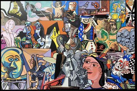 Erró, 'Picasso surprise', 2019