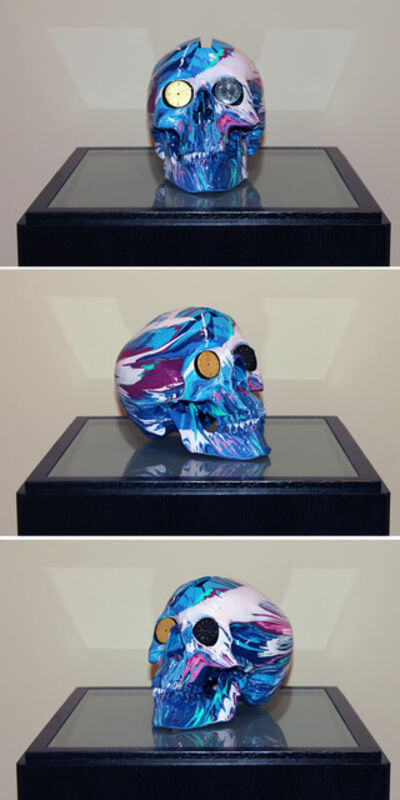 Damien Hirst, 'The Hours Spin Skull #4', 2009