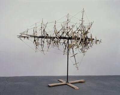 Tim Hawkinson, 'Das Tannenboot', 1994