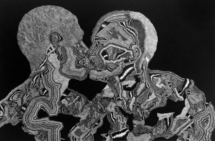 David Paul Kay, 'Geometric Abstraction: 'Contact'', 2020