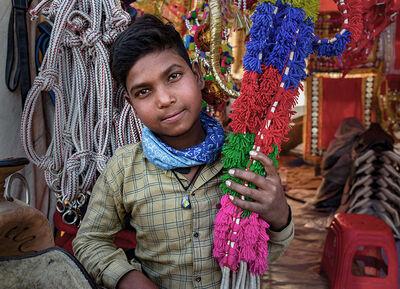 Neil O. Lawner, 'Portrait #8 India', 2020