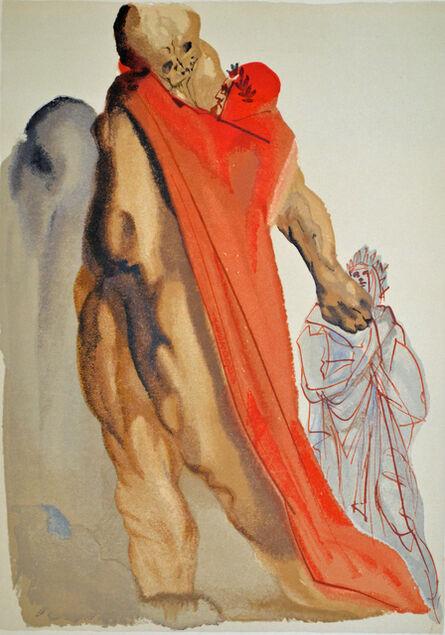 Salvador Dalí, 'Virgil Reproaches, Purgatorio canto 5, The Divine Comedy', 1960