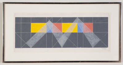 Jack Tworkov, 'A on P #1 Q2-82', 1982