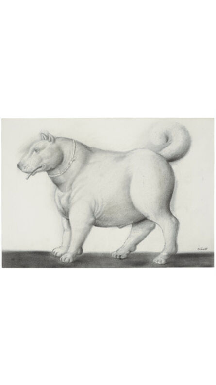 Fernando Botero, 'Dog ', 1988
