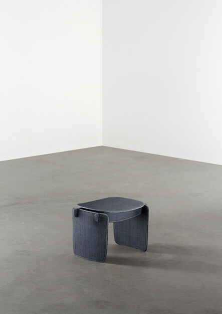 Aki and Arnaud Cooren, 'Tiss-Tiss Petit Tabouret Bas AAA Blue', 2019