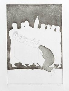 Elisabeth Frink, 'The Prioress's Tale', 1972