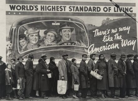 Margaret Bourke-White, 'At the Time of the Louisville Flood, Louisville, Kentucky', 1937