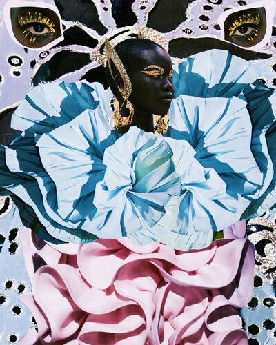 Deming King Harriman, 'Designer Homage:  Valentino Spring 2020 Collection', 2021