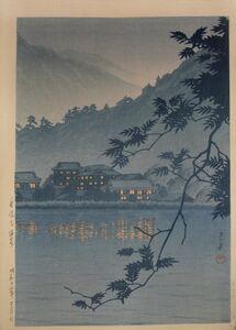 Kawase Hasui, 'Yumoto Hot Spring, Nikko', 1937