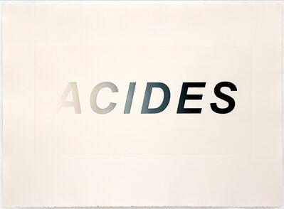 Carmen Perrin, 'ACIDES', 2019