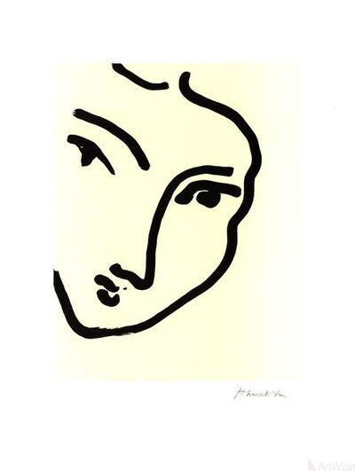Henri Matisse, 'Nadia Au Menton Pointu', 1995