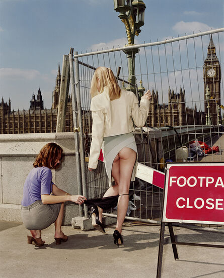 Rankin, 'Westminster Flashing', 1998