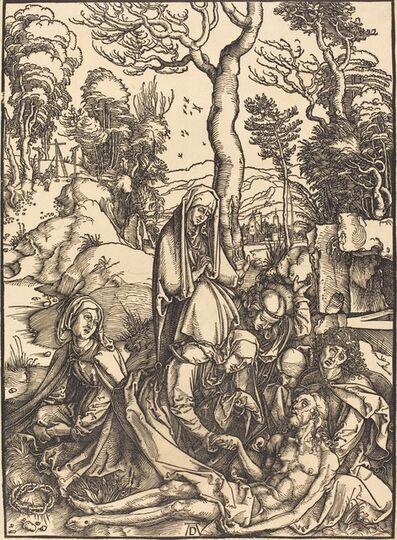 Albrecht Dürer, 'The Lamentation', ca. 1498/1499