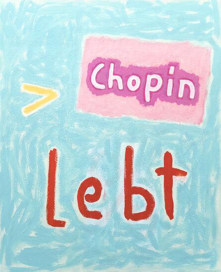 C.O. Paeffgen, 'o.T. (Chopin lebt)', 2003