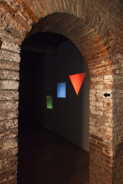 João Maria Gusmão & Pedro Paiva, 'The corner edges of objects appear rounded at faraway distances', 2012