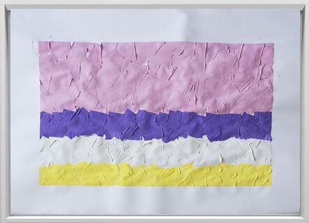 Rodrigo González Castellanos, 'Desgaste de la psicología del color, Sensibilidad', 2020