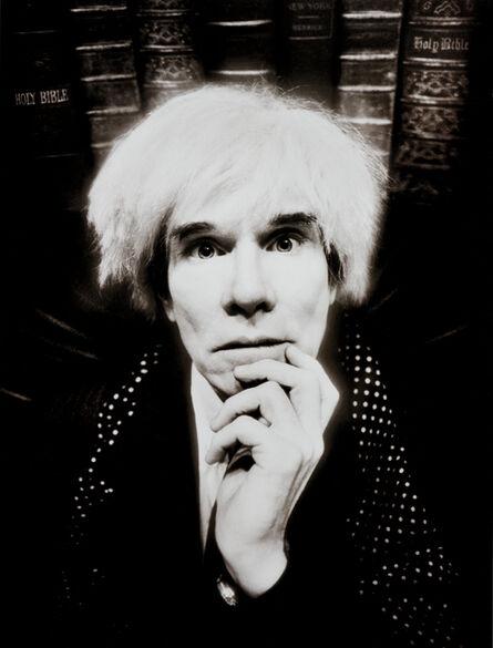 David LaChapelle, 'Andy Warhol: Last Sitting, November 22', 1987