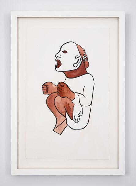 Mariana Castillo Deball, 'Xipe Totec, Museum für Völkerkunde, Basel II', 2018