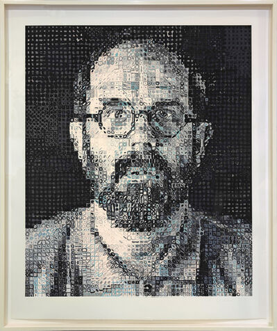 Chuck Close, 'SELF PORTRAIT', 1995