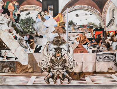 Alessandro Giannì, 'Due to the Image (The Last Supper)', 2021