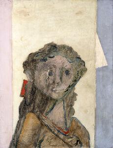Jankel Adler, 'Girl's Head', ca. 1940