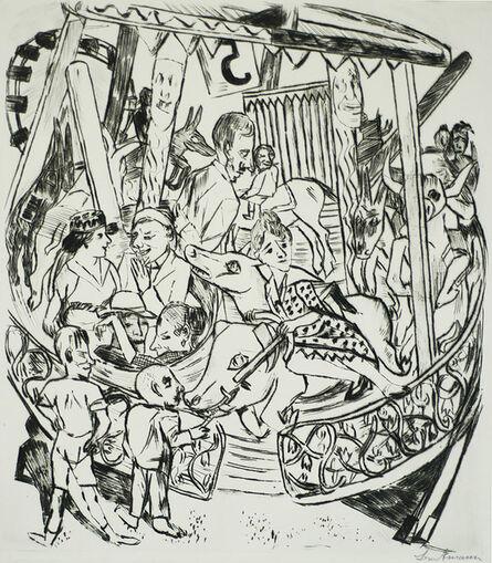 Max Beckmann, 'Merry-go-Round (Das Karussell)', 1921